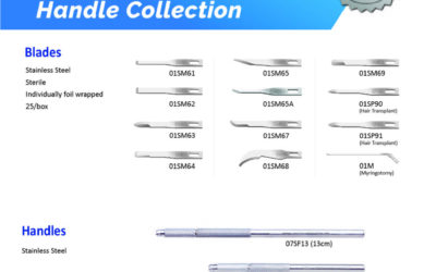 Miniature Blades – Raising the Standard of the mini blade offering